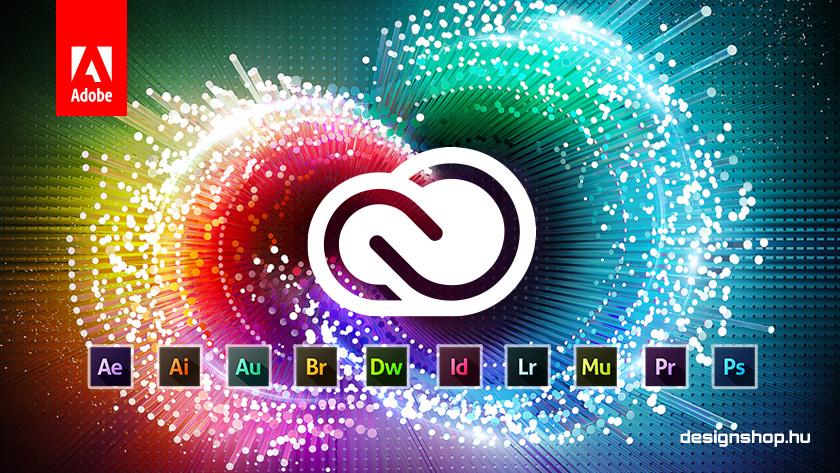 Adobe Creative Cloud tájékozató oldal