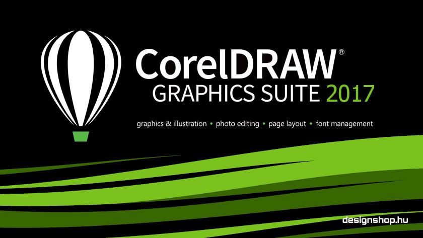 Megjelent a CorelDRAW Graphics Suite 2017