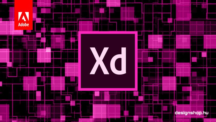 Adobe XD, UX/UI tervezőszoftver
