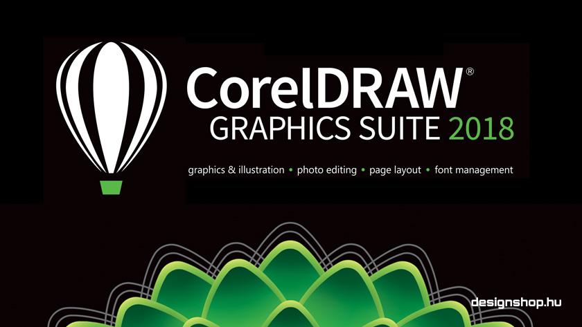 Megjelent a CorelDRAW Graphics Suite 2018