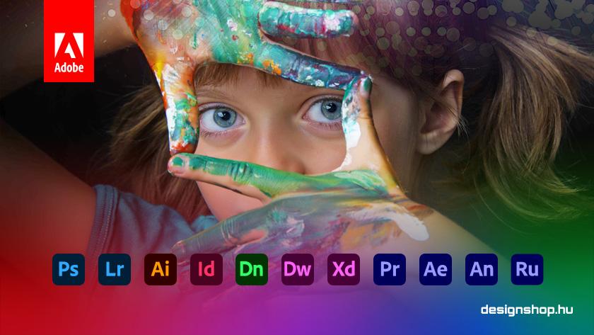 Creative Cloud All Apps K-12 – Adobe szoftverek általános és középiskoláknak