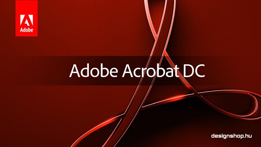 Adobe Acrobat DC – 2018 októberi verzió