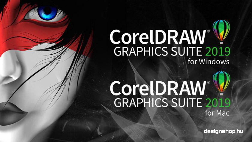 Megjelent a CorelDRAW Graphics Suite 2019 Windows és Mac változata