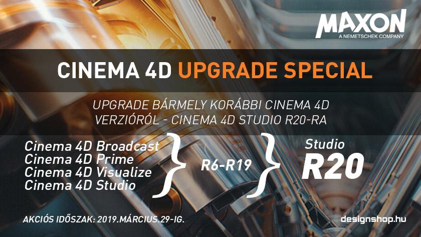 Cinema 4D Studio R20 Upgrade akció