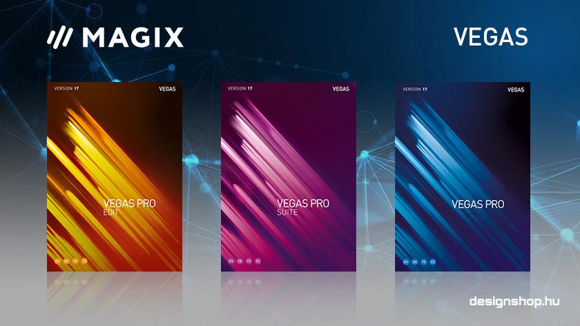 Megjelentek a Vegas Pro 17 verziók