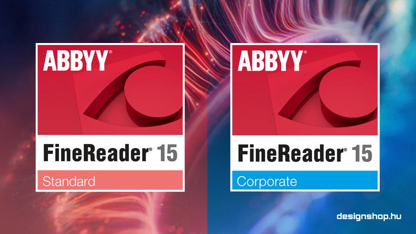 Megjelent az Abbyy FineReader 15