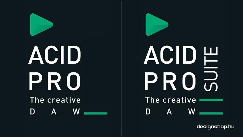 Rendelhető az Acid Pro 10  és Acid Pro 10 Suite