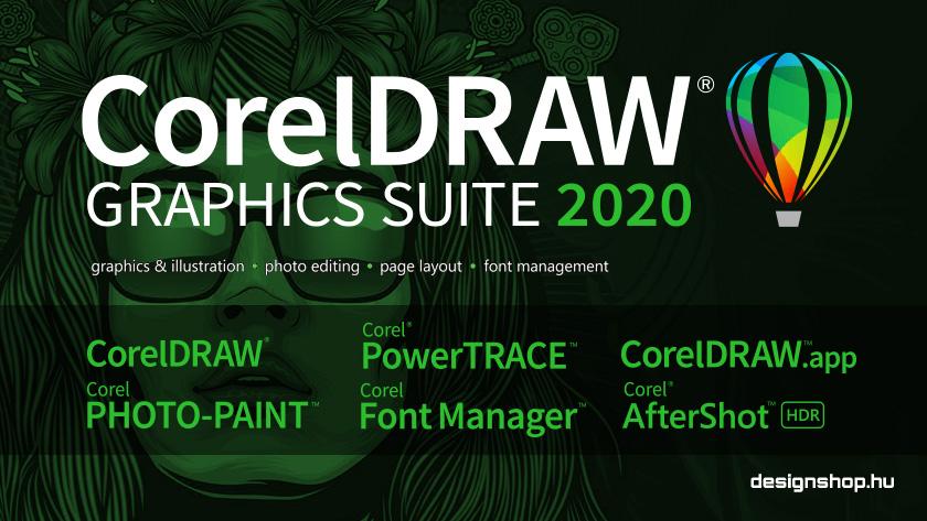 Megjelent a CorelDRAW Graphics Suite 2020 és a CorelDRAW.app új verziója