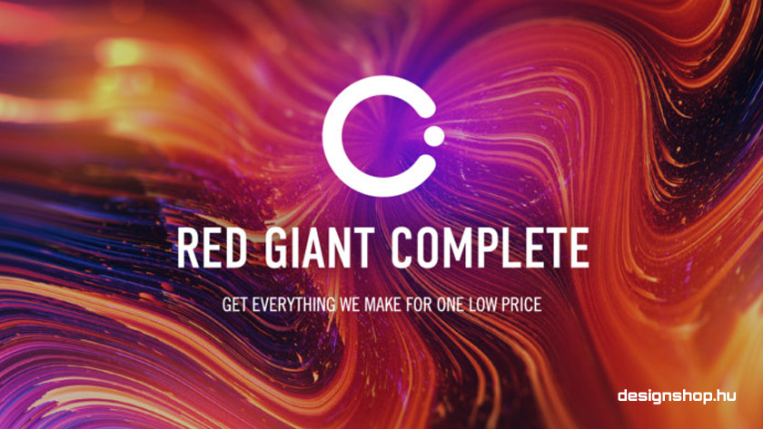 Red Giant Complete – a legjobb videós plugin csomag