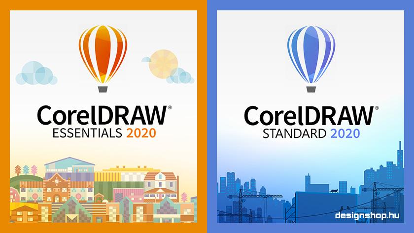 Új CorelDRAW verziók! CorelDRAW Essentials és Standard 2020