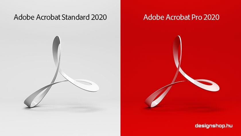Megjelent az Adobe Acrobat Standard és Pro 2020-as, örökös verziója