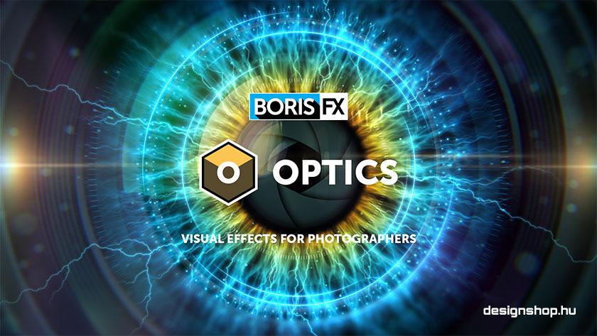 Boris FX Optics plugin csomag Photoshophoz és Lightroomhoz