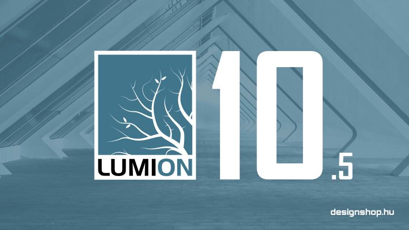 Kültéri bútorokkal, lámpákkal bővült a Lumion 10.5