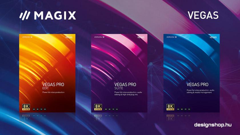 Megjelentek a Vegas Pro videószerkesztő 18-as verziói