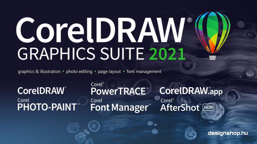 Megjelent a CorelDRAW Graphics Suite 2021, multiplatformos változatban is